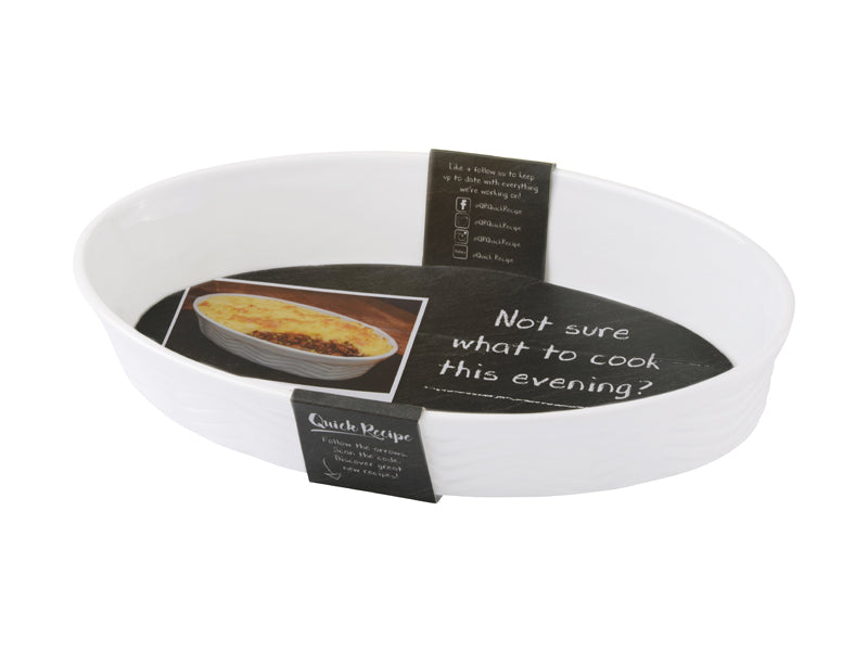 Bia Quick Recipe Oval Roasting Dish