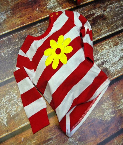 Blade & Rose Red Baby Top
