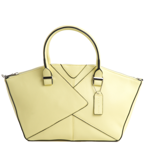 C'est Beau Pretty Lady Yellow Handbag
