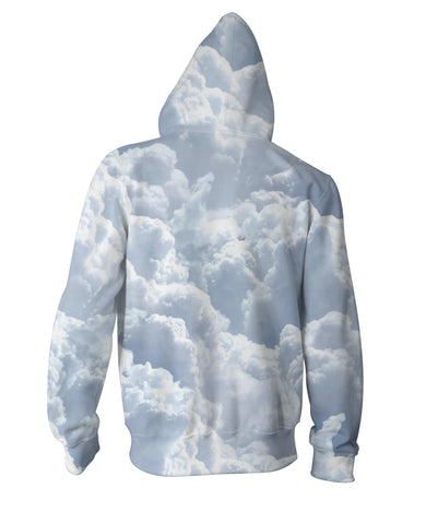 Clouds Zip-Up Hoodie
