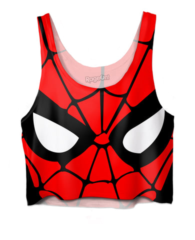 Spiderman Crop Top