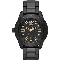 Adidas ADH-1969 Three Hand Stainless Steel Watch (Black)