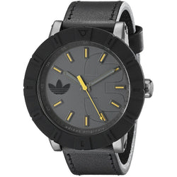 Adidas ADH3028 Men's Amsterdam Analog Display Analog Quartz Watch (Black)
