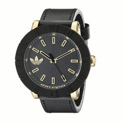 Adidas ADH3041 Men's Amsterdam Analog Display Analog Quartz Watch (Black)