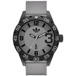 Adidas ADH3079 Men's Newburgh Analog Display Analog Quartz Watch (Grey)