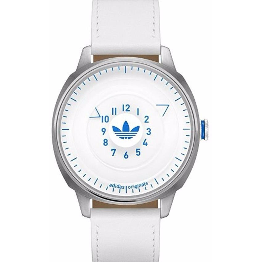 Adidas ADH3127 San Fransisco White Dial White Leather Strap