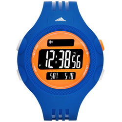 Adidas ADP3139 Men's Digital Watch (Blue/Orange