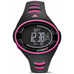 Adidas Ladies Black Performance AdiZero Chronograph Rubber Watch ADP3519