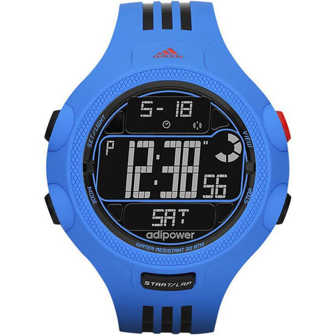 Adidas Unisex ADP3122 Digital Watch (Blue)