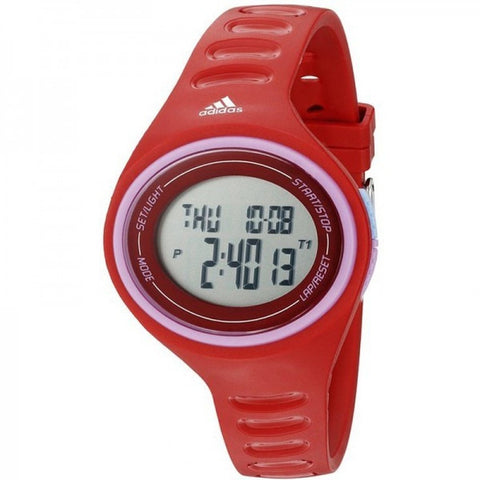Adidas Unisex ADP3180 Adizero Basic Digital Watch (Red)