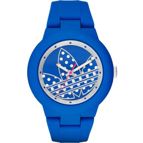 Adidas Women's ADH3049 Silicone Analog Watch (Blue)