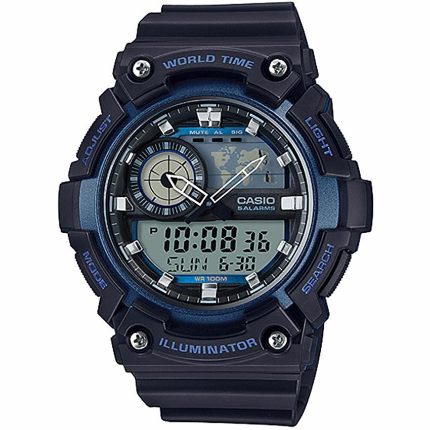 CASIO AEQ-200W-2A WORLD TIME MEN'S WATCH