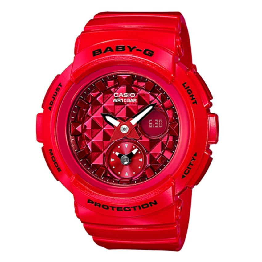 Casio Baby-G BGA-195M-4A Women Sports Watch