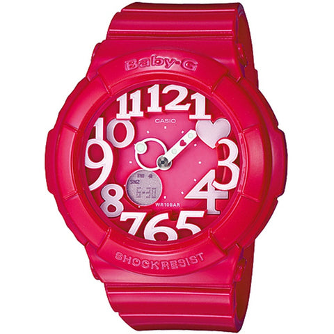 Casio Baby-G Hot Pink Neon Watch BGA-130-4B
