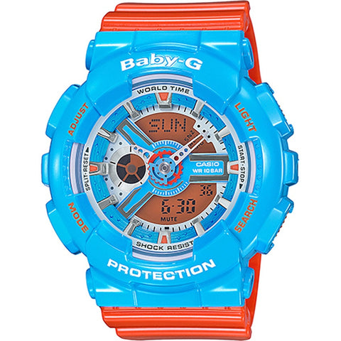 Casio Baby-G Neon Color Series Ladies Watch BA-110NC-2A