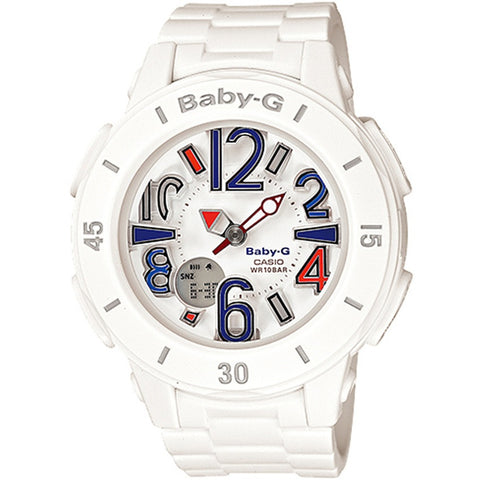 Casio Baby-G Neon Marine Illumination Ladies Watch BGA-170-7B2