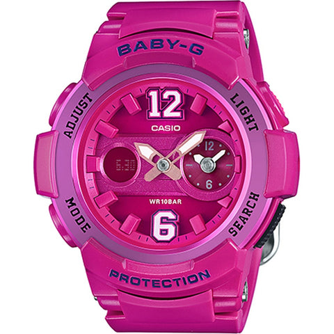 Casio Baby-G Sporty Series Standard Analog-Digital Ladies' Watch BGA-210-4B2