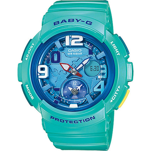 Casio Baby-G Women's Blue Resin Strap Watch BGA-190-3B