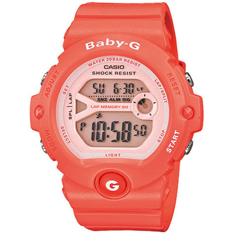 Casio Baby-G Women's Pink Resin Strap Watch BG-6903-4
