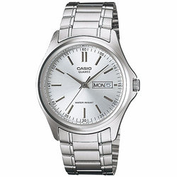 Casio Enticer Men's Analog Stainless Steel Band Watch  MTP-1239D-2A