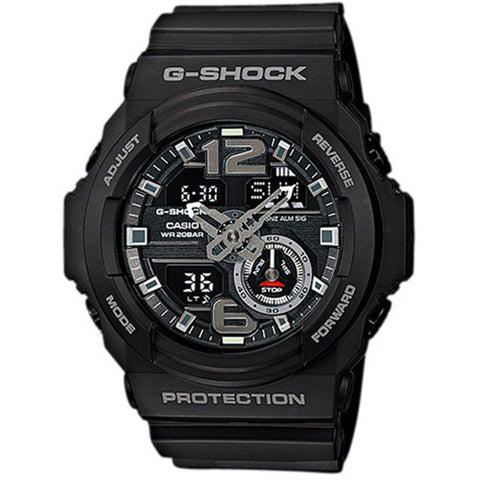 Casio G-Shock Black Resin Digital Watch GA-310-1A