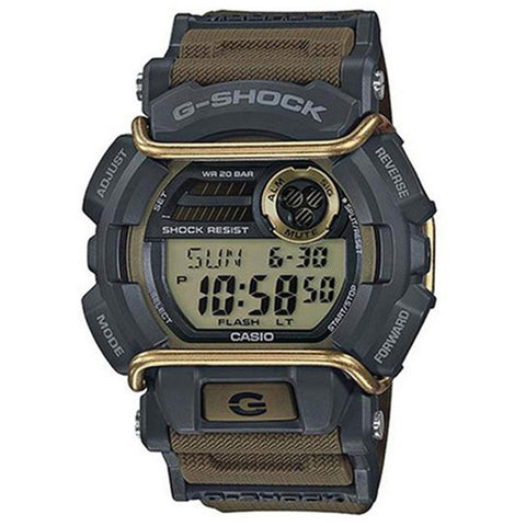 Casio G-Shock Flash Alert Super Illuminator Men's Resin Strap Watch GD-400-9
