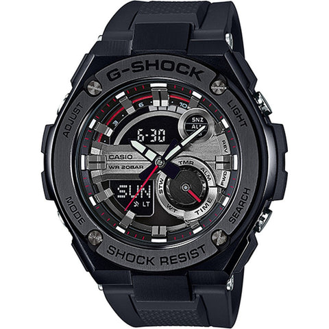 Casio G-Shock G-Steel Multi Layered Face Mens Watch GST-210B-1A