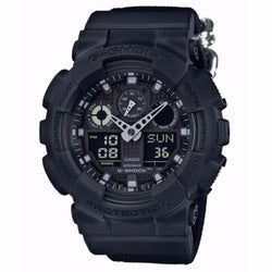 Casio G Shock GA-100BBN-1A Men's Watch (Black)
