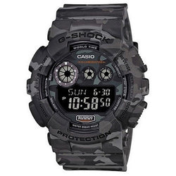 Casio G-Shock GD120CM 8 Woodland Camouflage Pattern Men's Watch