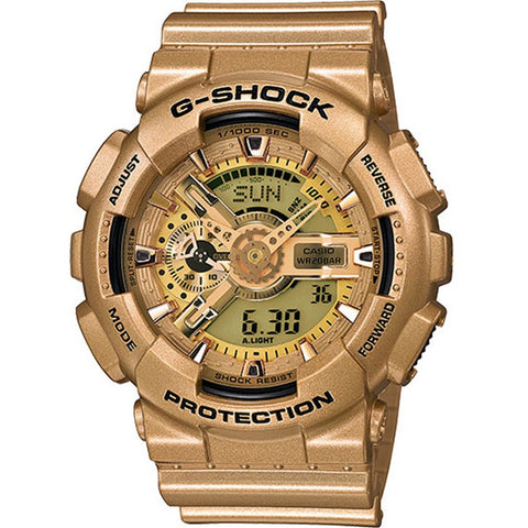 Casio G-Shock Limited Edition Bright Gold Colors Watch GA-110GD-9A