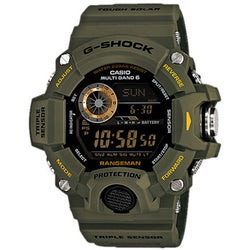 Casio G-Shock Master of G Rangeman Watch GW-9400-3 GW9400 GW-9400-3DR
