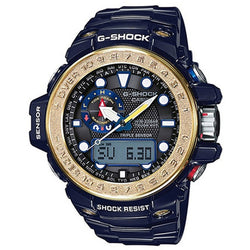 Casio G-Shock Men's Blue Resin Strap Watch GWN-1000F-2A