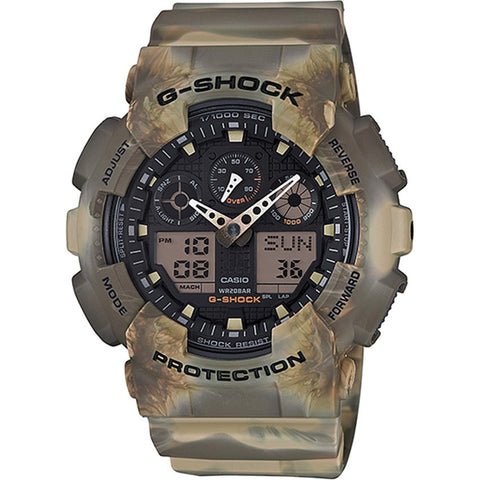 Casio G-Shock Mens Camouflage Series GA-100MM-5A
