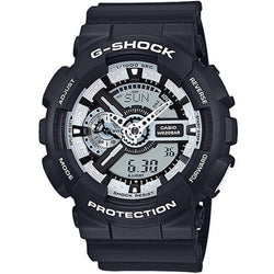 Casio G-Shock Monotone Design Series Resin Band Watch GA110BW-1A