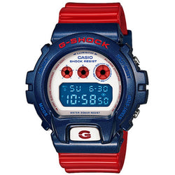Casio G-Shock Red and Blue Big Case Watch DW6900AC-2