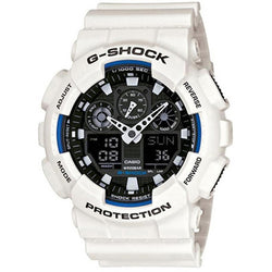 Casio G-Shock White Strap Watch GA-100B-7ADR
