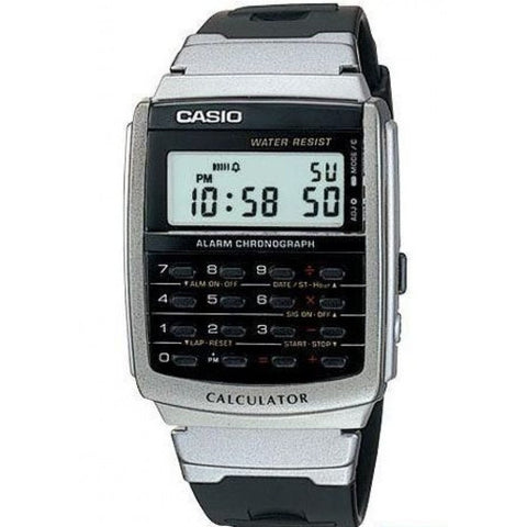 Casio Men's Black Resin Strap Watch CA-56-1D