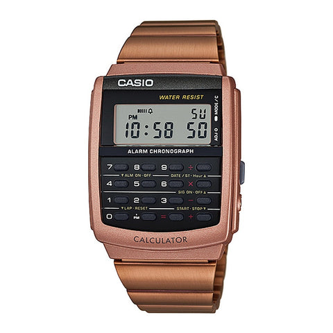 Casio Men's Bronze Resin Strap Wacth CA-506C-5A