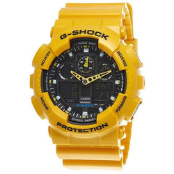 Casio Men's G-Shock Watch NWT GA-100A-9A