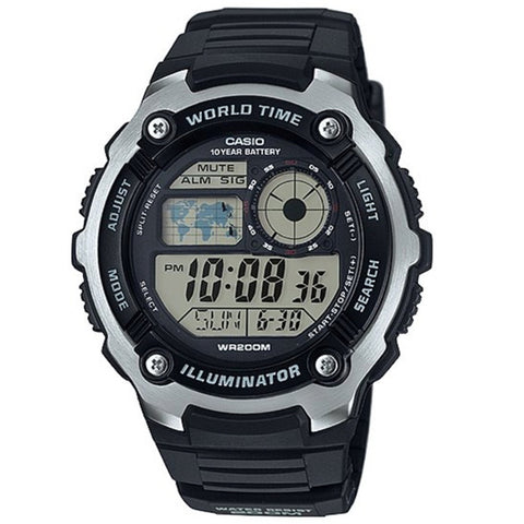 Casio Men's Resin Strap Watch AE-2100W-1A
