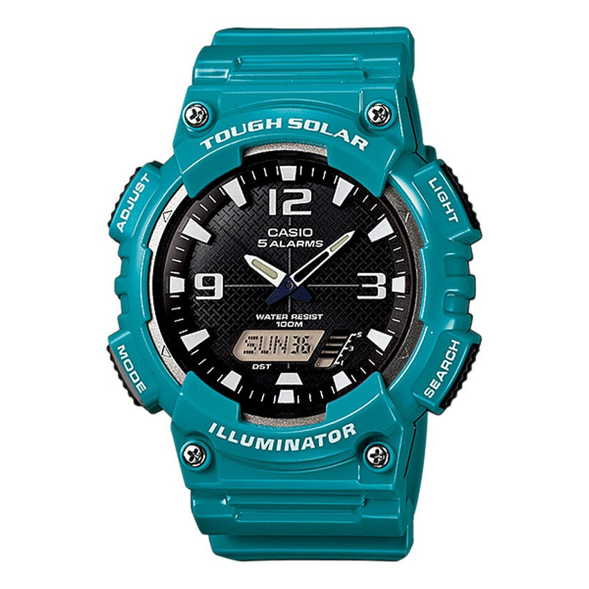 Casio Men's Resin Strap Watch AQ-S810WC-3A