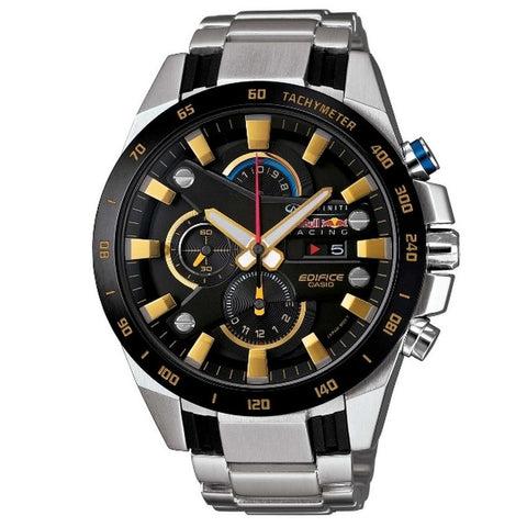 Casio Men's Silver Stainless Steel Watches EFR-540RB-1A