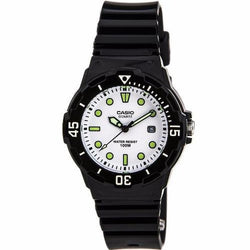 Casio Women's Black Resin Strap Watch LRW-200H-7E1