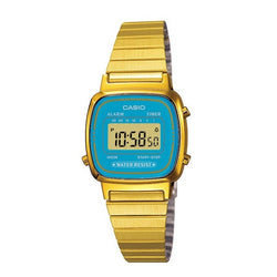 Casio Women's Gold Stainless Steel Watch LA670WGA-2D