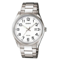 Casio Women's Silver Stainless Steel Strap Watch LTP-1302D-7B̴å«ÌÎÌÏ_