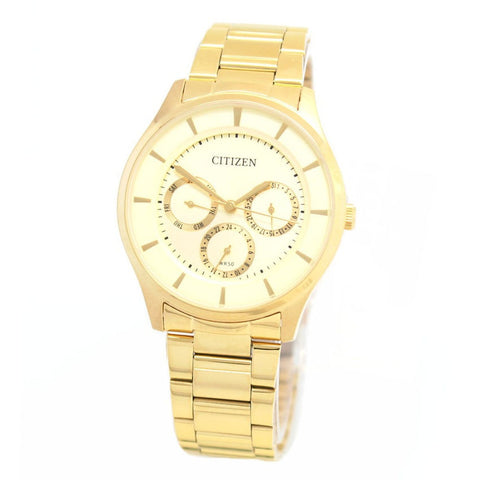 Citizen AG8352-59P Chronograph Mens Watch Gold