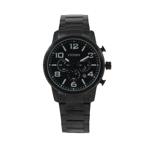 Citizen Black Stainless Steel Men's Chronograph Analog Watch AN8058-59E