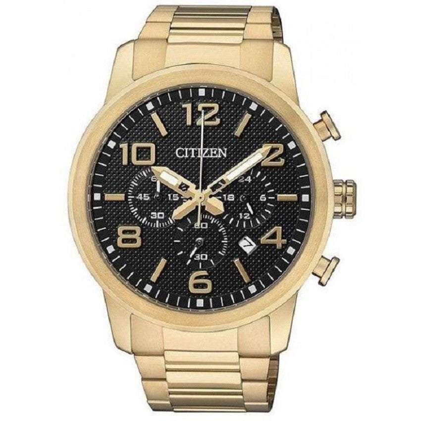 Citizen Chronograph Men's Watch Stainless Steel Black Dial AN8133-55E