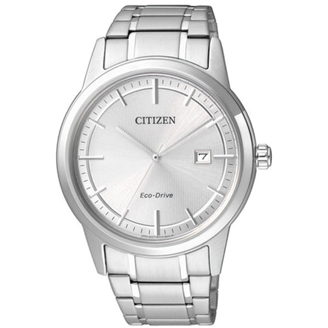Citizen Eco-Drive Men's Silver Stainless Steel Strap Watch AW1231-58A
