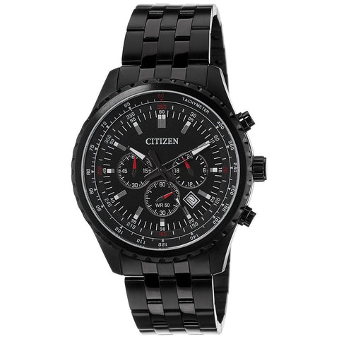 Citizen Men's Analog Black Dial Stainless Steel Quartz Watch AN8065-53E